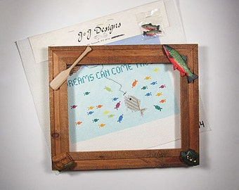 Dreams Can Come True Handpainted Canvas and Frame*