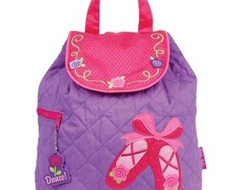 Personalized Stephen Joseph Girls Backpack-BALLET  DANCE BAG