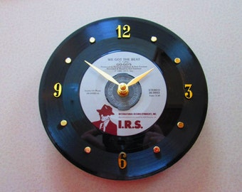 Go-Go's 45 Record Clock We Got The Beat