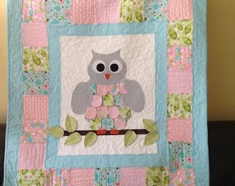 Owl Crib Quilt
