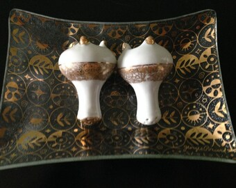 George Briard Gold Forbidden Fruit Plate