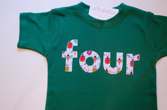 Bug Birthday Shirt Boy Or Girl 4th Tshirt Kelly Green