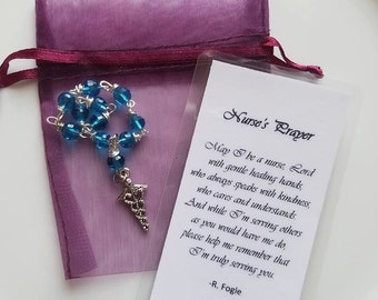 Nurse's Prayer Mini-Rosary
