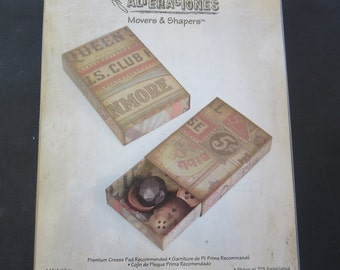 """Sizzix Movers & Shapers Large Base Die By Tim Holtz 6""""X8.75"""" - 659447"""