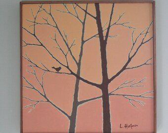 Original Art, painting, 18x18, framed, acrylic painting