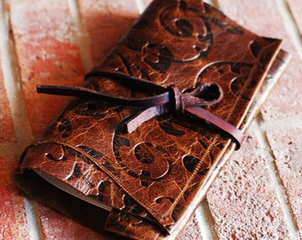 Leather Journal, Personalized leather Journal, Leather Diary, leather notebook, Sizzlestrapz