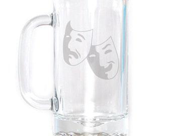 Small Beer Mug - 16 oz. - 2300 Theater Mask