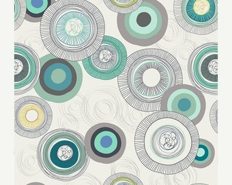 SALE - URBAN MOD Roundabout by Day (Ur-70019) - Patricia Bravo - Art Gallery Fabrics - By the Yard