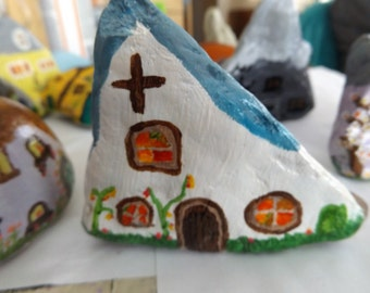 hand painted stones from the british coastline out side or inside gifts