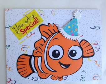 Free Printable Finding Dory Blank Invitation Images Gallery Unique Nemo Birthday Card Related Items Etsy