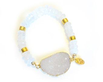 Love Angel Moon Bracelet