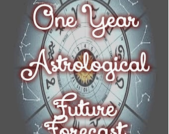 Astrological Future Forecast -- Daily for ONE YEAR!