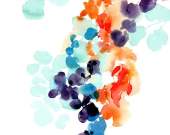 Botanical Watercolor - Print
