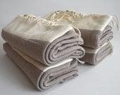 Free Shipment SET 4 Piece Turkish BATH Towel Peshtemal - Cotton - Beach, Spa, Swim, Pool Towels and Pareo