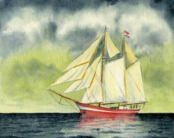 Fair Winds And Following Seas