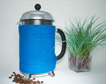 "French Press ""Bean Belt"" Coffee Cozy -  12-cup (51oz, 1.5L)"
