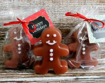 10 Ginger Bread Cookie Soap Party Favors