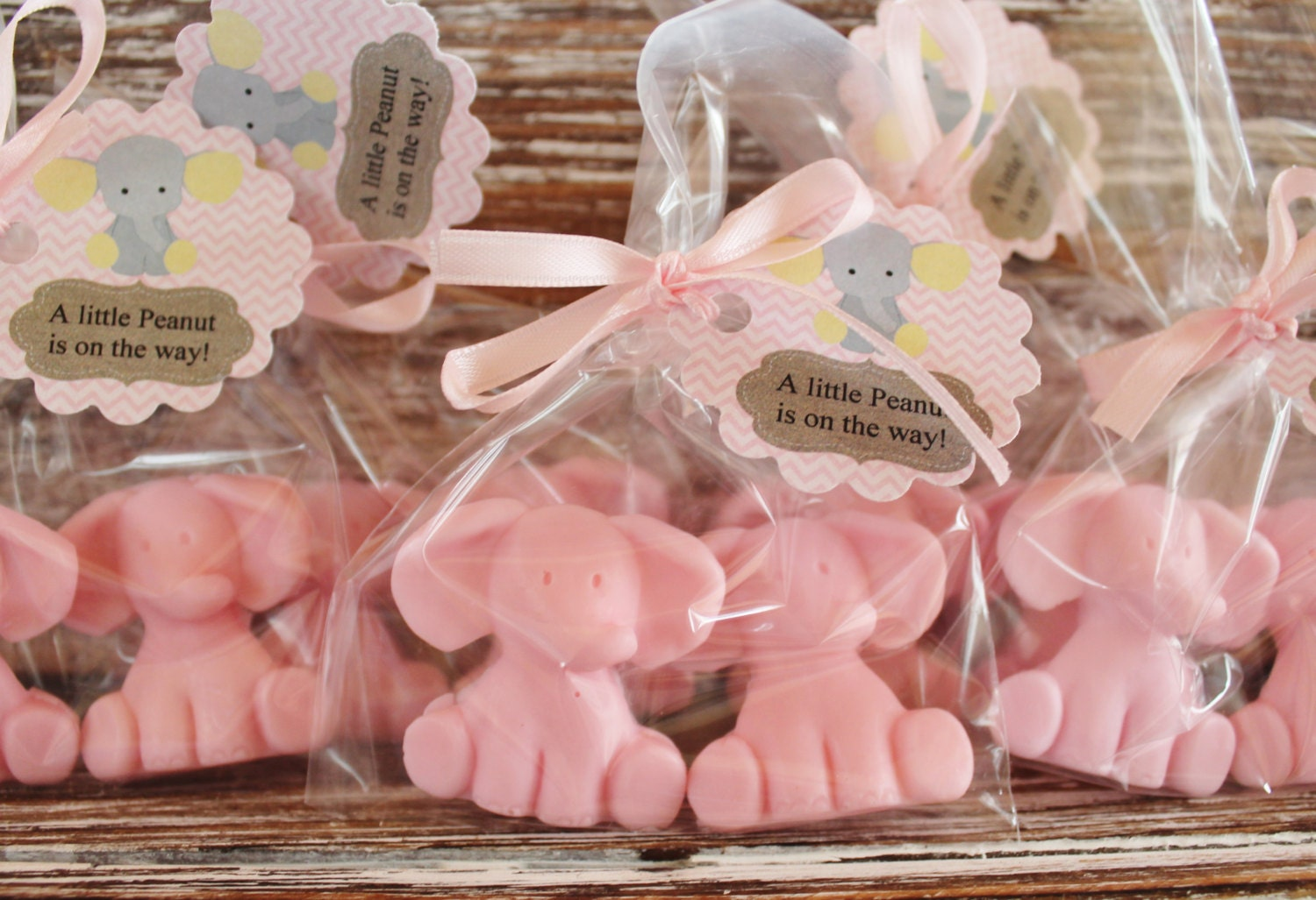 baby elephant party favor soaps elephant soap baby shower