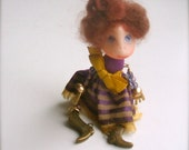 Doll-brooch Dancing - Handmade - Brooch girl- funny doll brooch
