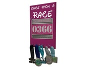 Run disney : rundisney accessories - medal holder - Once upon a RACE - Run disney Runners and races fan