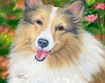 Custom Dog Portraits in Oil, Dog Paintings, Pet Paintings by artist, Eleanor Davin