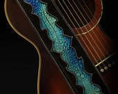 Custom Nightfall Pacific Guitar Straps
