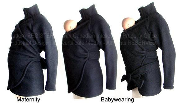 Maternity Jacket. Babywearing Coat. SPRING. Baby Wearing. Baby Clothes. Coat. Sling Coat. CUSTOM Made. Baby Wearing Coat.