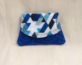 Blue weekend wallet