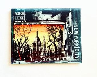 Central Park Collage