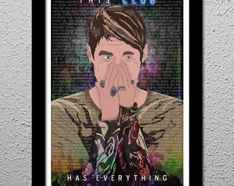Stefon - Saturday Night Live - Bill Hader Art Poster Print