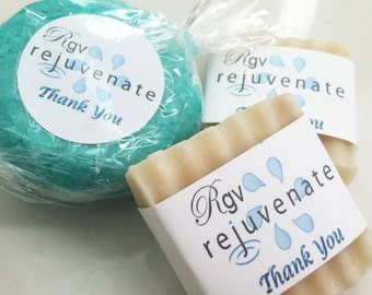 ONLY ONE DOLLAR per oz, then Customize! Wedding Favors or Company Promotional B&B Resort Hotel - Lush Party Idea - Custom Guest Soap Favors