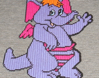 Elaroo From The Wuzzles Plastic Canvas Pattern