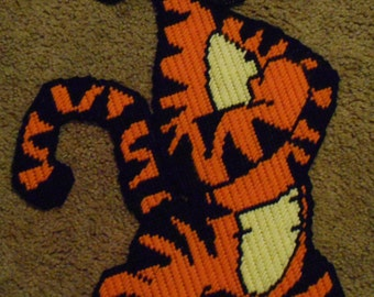 Tigger From Winnie the Pooh Plastic Canvas Pattern