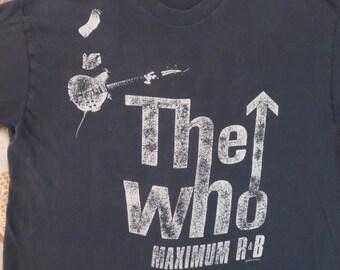 Original THE WHO 1989 tour T SHIRT