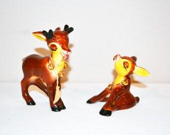 Vintage Deer Shakers