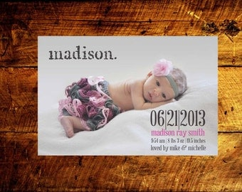 baby girl birth announcements, baby boy birth announcements, baby announcement cards, birth announcement cards, birth announcements