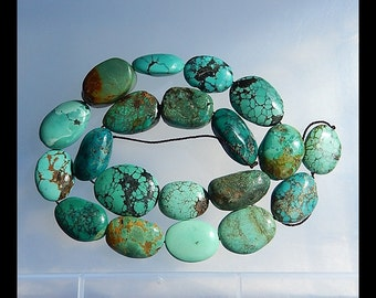 Gemstone Turquoise Loose Beads,1 Strand,40cm in the Lenght,20x16x10mm,20x13x8mm,70.7g