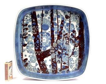 Johanne Gerber Royal Copenhagen Beautiful Design Bowl Dish Fajance Ceramic Danish Modern 60s