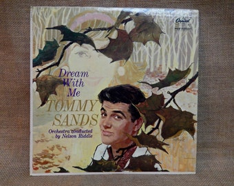 Tommy Sands - Dream With Me - 1961 Vintage Vinyl Record Album