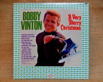CHRISTMAS...BOBBY VINTON - A very Merry Christmas - 1964 Vintage Vinyl Record Album