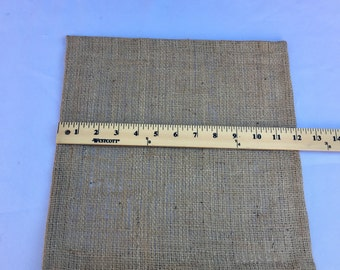 Burlap Table Square, 12 inch Square, Wedding, Shower, Party, Large Order, Custom Sizes Available