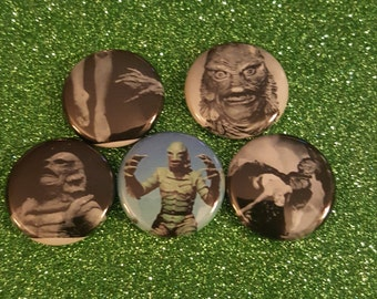 Creature from the Black Lagoon Pin Set