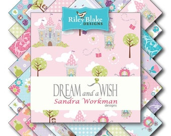 Dream And A Wish Charm Pack 5 Inch Stacker Riley Blake