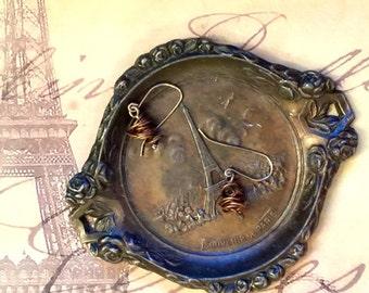 Vintage Eiffel Tower | Brass Tray | Souvenir | Francophile | Tour d'Eiffel | Paris France French