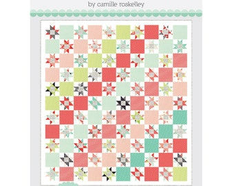 Candy Stripes TB 204 Quilt Pattern by Camille Roskelley of Thimble Blossoms