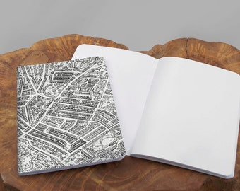 A6 map Notebook