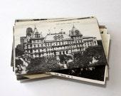 50 Vintage New York Black and White Unused Postcards Blank - Unique Travel Wedding Guest Book, Reception Decor, Travel Journal Supplies