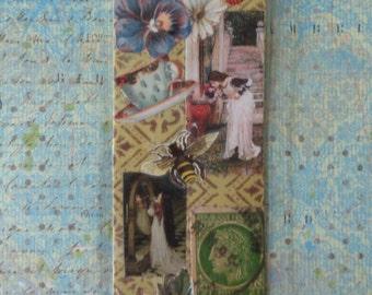 John William Waterhouse Collage Bookmark by Pepperland