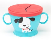 Personalized Snack Container, Baby Snack Cup, Kids Snack Cup