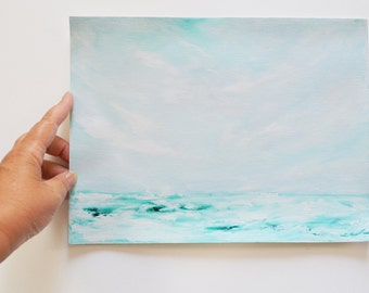 Painting Ocean Seascape OOAK Art
